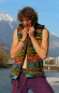 Preview: green-tiedye-vest-remobeable-hood-fleece-lined-machine-wash-able