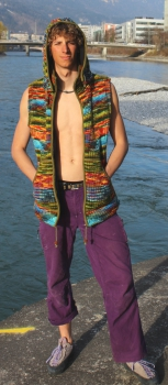green-tiedye-vest-remobeable-hood-fleece-lined-machine-wash-able