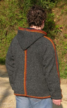 Hooded Jacket with fleece lining, soft and warm