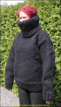 'Woolmonster in Mohair-Look'